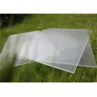China Small Size 100 x 100mm Solar Photovoltaic Glass 3.2mm Thickness For Solar Cell on sale