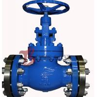 Quality Industrial OS&Y Globe Valve Rising Stem Hardfaced 300LB Flanged / BW wholesale