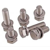 Quality A2-70 Stainless Steel Hex Bolt With Nut And Washer Size M4-M48 DIN933 wholesale