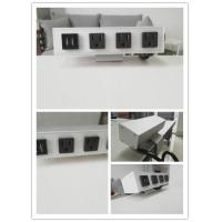Quality Desk Mounted Power Sockets With 3 Outlets And 2 USB Ports For Laptop Mobile Phone wholesale