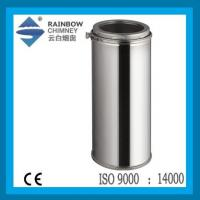 China double wall stainless steel chimney pipe on sale