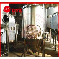 Quality 2000L Jacketed Cylindro Conical Fermenter Machine With Pressure Gage wholesale