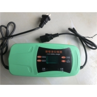 China 48v Motorcycle Car Lead Acid Battery Charger Pulse Repair With EU US UK AU Plug on sale
