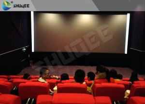 Quality High Class Sound Vibration Cinema With 2K Projector Silver Screen wholesale