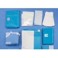 China Laparoscopy Abdominal Medical Procedure Packs Disposable Sterile Surgical Drapes on sale