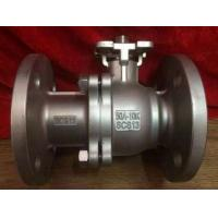 Buy cheap Durable JIS 10K Flanged Ball Valve , Ss Ball Valve SCS13 / SCS14/pneumatic ball from wholesalers