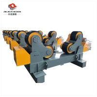 Buy cheap 60T Self Adjustment Pipe Welding Rollers With Moving Wheels , 60T Tanks Turning Rolls from wholesalers