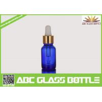 Quality Free Sample Colorful Amber Blue 15ml Glass Dropper Bottle wholesale