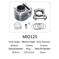 China High Performance Air Cooled Motorcycle Cylinder Kit For Yamaha 125 Scooter on sale