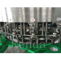 Quality CE Approval Glass Beer / Can Beer Bottle Filler Machine Stainless Steel Material wholesale