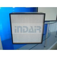 Quality Fiberglass Media High Flow HEPA Filter With Advanced Sealing Performance wholesale