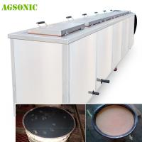 Quality Industrial Ultrasonic Tank 40khz Diesel Particulate Filter Cleaning Machine With Dying System wholesale