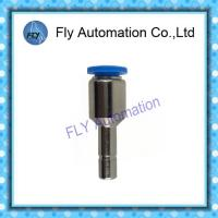 China Plastic Metal Flexible Tube Fittings PGJ 6-1/4 Pipe Nickel - Brass Air Fittings on sale