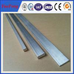 Quality anodized aluminium china supplier aluminio 6061 flat / aluminum flat bar price per kg wholesale