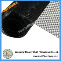 PVC coated 1m x 30m roll Insect proof black color 18x16 Fiberglass Insect Screen Mesh Roll