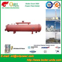 Quality Anti shock gas hot water boiler mud drum ASME wholesale