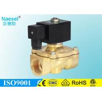 China 12V / 24V Vacuum Solenoid Valve , Durable Gas Solenoid Shut Off Valve on sale