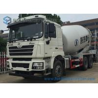 Quality White Concrete Mixing Transport Truck 8 Cubic Meter SHACKMAN 6X4 Truck wholesale