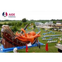Quality Kids Outdoor Playground Inflatable Sports Equipment Themed Octopus Slide wholesale