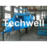 Quality Electric Control Trailer Mounted K Span Roll Forming Machine For Arched Roof Panel wholesale