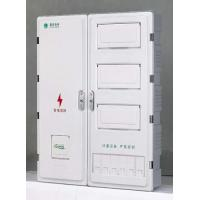 China Smart Outside Electric Meter Box Covers , Surface Mounted Meter Box High Voltage on sale