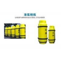 Cheap 800L Chlorine Gas Cylinder , Industrial Gas Cylinders 450KGS Weight for sale