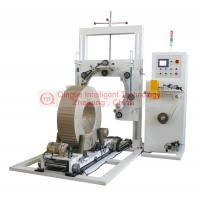 China Heavy Duty Wire Coil Wrapping Machine , Highly Efficiency Vertical Wrapping Machine on sale