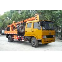 Cheap Truck Mounted Drilling Rig , Mobile Drilling Rigs For Bridge , Dam for sale