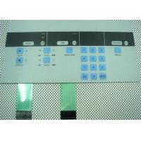 High Sensivity PC Tactile Membrane Switch Panel For Backlight / Medical Equipment