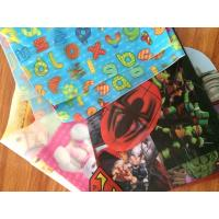 China PLASTIC LENTICULAR 3D soft PVC printing flip lenticular effect 3D TPU soft lenticular printing for clothing bag footwear on sale