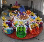 Quality Indoor / Outdoor Crazy Dance Ride Amusement Equipment Magic Lamp Ride wholesale