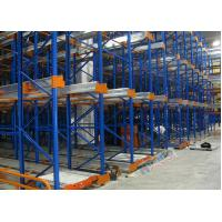 Quality Freezers Radio Shuttle Racking 2 Aisles Heavy Load Industrial Pallet Racks Customized wholesale
