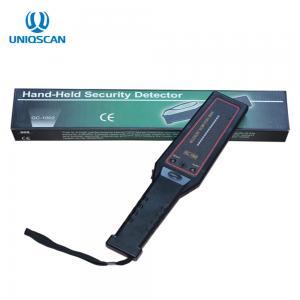China Super Wand Hand Held Metal Detector LED Light Indicator IP45 Sound / Light Alarm on sale