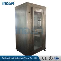 Quality Stainless Steel Air Shower Room Self - Contained HEPA Filter Equipped For Food Medical wholesale