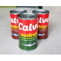 Quality Calvo Brand Canned Sardine Canned Fish in Tomato Sauce with or without Chili wholesale
