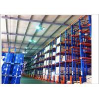Quality High Density Forklift Drive In Pallet Racking For Industrial Warehouse Storage wholesale