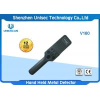 Quality 4 Levels Sensitivity Portable Metal Detector 350 X 80 X 60 Mm With 9V Standard Dry Battery wholesale