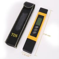Cheap Handheld TDS ppm Meter Water Quality Tester 0-9999 ppm Measurement Range for sale