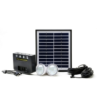 China 4W 11V  Portable Solar Energy System , 9H Solar Panel Kits For Home on sale