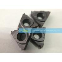 Quality Hardened Steel Carbide Thread Cutting Inserts With Pitch 8 T / Inch External Threads wholesale