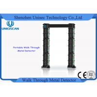 Quality UM700 body scanner commercial metal detector Walk through 24 detecting zones wholesale