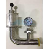 China Air Pressure Relief Valve with Manometer for Fermentation Tank Pressure Relief Valve on sale