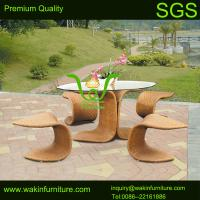 China synthetic wicker garden furniture on sale