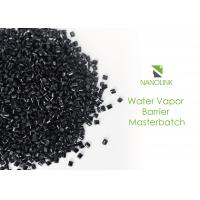 Quality High Efficiency Black Water Vapor Barrier Masterbatch For Food / Beverage wholesale