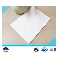 Quality Non Woven Geotextile Drainage Fabric Flexible For Power Plant PET 250GSM wholesale