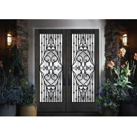 Quality Galvanized Steel Remarkable Inlaid Door Glass For Building Hand Forged wholesale