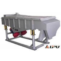 China 1 Sieve Layer Linear Vibrating Screen Machine In Mining , Coal , Light Industry on sale