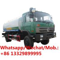 Quality HOT SALE! Dongfeng water irrigation 15000 liter drinking spray gun street sprinkler truck, Dongfeng water tanker truck wholesale
