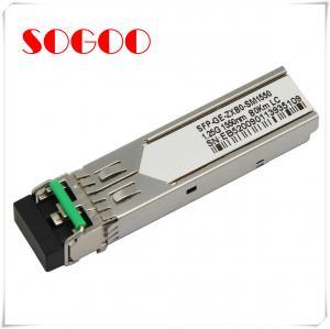 China 1000BASE-T Single Mode SFP Optical Transceiver / Module GLC-T on sale