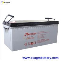China Deep Cycle Gel Battery 12V300ah for Solar Panel/Charger Controller on sale